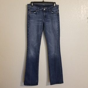 7 for all mankind flare Jean's  size 29